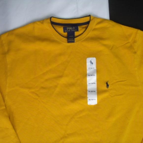 617c23d0f94b Ralph Lauren Sweaters | Polo Yellow Long Sleeve Sweater Xl | Poshmark